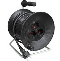 Удлинитель на катушке с заземлением 40м (3х1,5) 3 кВт