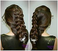 Косы. Прически из кос и плетений.