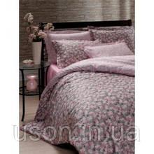 Комплект постельного белья Storway  сатин евро размер calanthe-v1