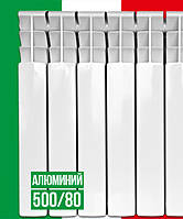 Алюминиевый радиатор Italclima Vettore 500/80