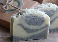 """Натуральное мыло """"Черно-голубая глина"""""""