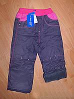 Распродажа!!! Детские теплые штаны на девочку Mintini (Турция), фото 1