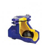 Клапан обратный шаровый муфтовый Zetkama арт 401 Ду 40