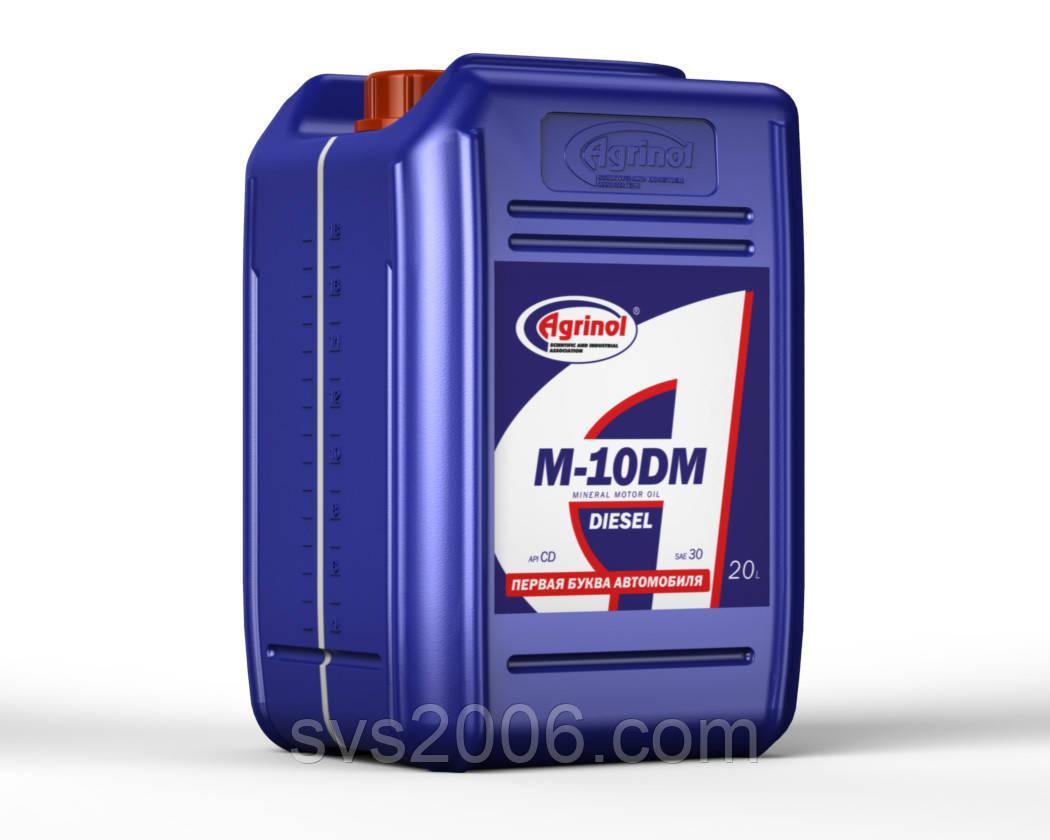 Масло моторное М-10ДМ(в канистрах 20 л )
