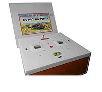 """Инкубатор """"Курочка Ряба"""" на 130 яиц усиленный с механическим переворотом и цифровым терморегулятором."""