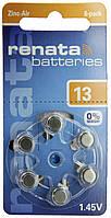 Батарейка Renata ZA13 повітряно-цинкова