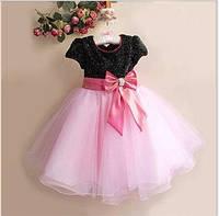 Д-101276-3 Детское бальное платье на выпускной в детский сад
