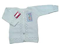 Красивый вязанный кардиган для девочки 2 года  код.95211
