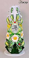 Свечи ручной работы сувенирные