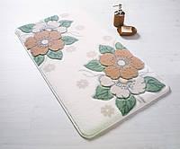 Набор ковриков для ванной Confetti PETAL 01 SALMON