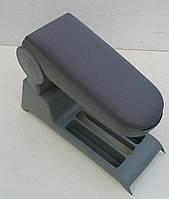 VW Polo 9N подлокотник ASP серый текстильный с частью консоли
