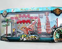 Игровой пиратский набор с кораблем и башней (A21291)