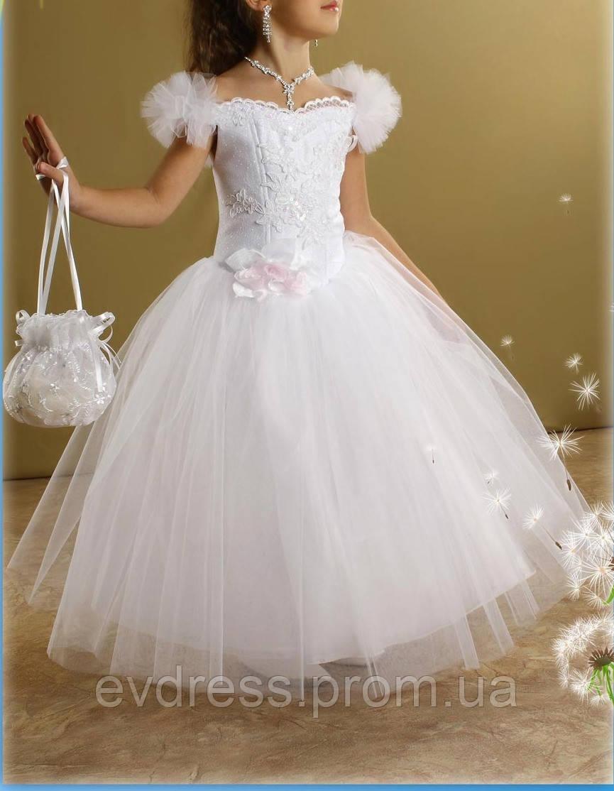 d885cce0d99 Д-101211 Детские нарядные платья с пышной юбкой