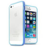 Чехол для моб. телефона JCPAL Anti-shock Bumper 3 in 1 для iPhone 5S/5 Set-Blue (JCP3313)