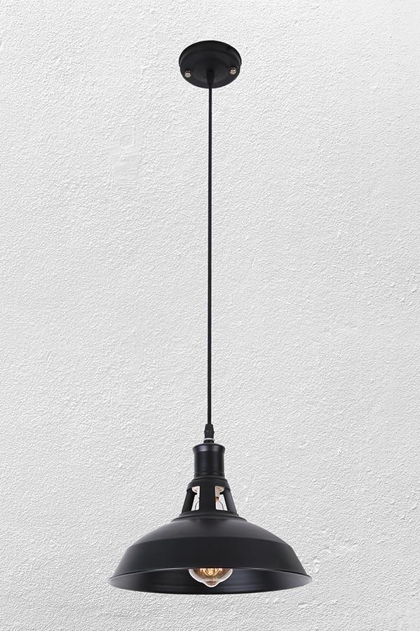 Люстра , подвес лофт  07-9183-1 BK  260 мм.
