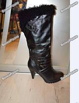Женские демисезонные сапоги. Женские сапоги 36 размера., фото 2