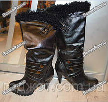 Женские демисезонные сапоги. Женские сапоги 36 размера., фото 3