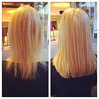 Наращивание коротких волос 35 см недорого