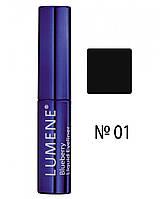 LU Blueberry Liquid Eyeliner - Подводка для глаз с черникой (01-насыщенный черный), 2,8 мл