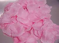 Искусственные лепестки роз розовые, 500-600 шт./уп.