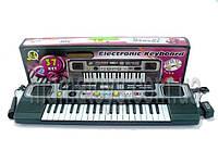 Пианино синтезатор детский, Микрофон. MQ 827 USB. 37 клавиш, 54 см
