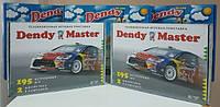 Телевизионная игровая приставка денди dendy mster с встроенными популярными 195 играми
