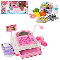 Кассовый аппарат 5922 (24шт) 25-13, 5-12см, калькулятор, сканер, зв, св, продук, на бат, в кор, 39-17-16,5см