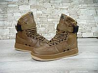 Зимние мужские кроссовки Nike Special Field SF Air Force Brown
