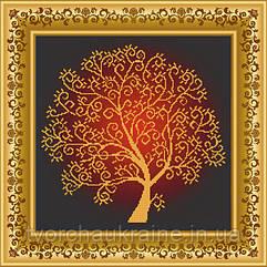 """Схема для вышивки бисером """"Дерево Изобилия"""""""