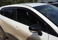 Дефлекторы окон Renault Captur с 2013 г. (Cobra-tuning)