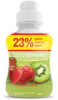 SodaStream сироп Green IceTea (клубника-киви) 750мл., фото 1