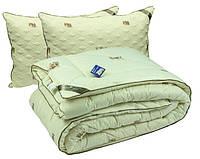 """Набор зимнее шерстяное одеяло 200х220 + 2 подушки 50х70 Sheep ТМ """"РУНО"""""""