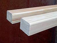 Брус для лавочек и скамеек 40х60 мм из сосны, фото 1