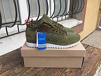 Зимние мужские кроссовки Adidas Originals Military Trail Runner Green