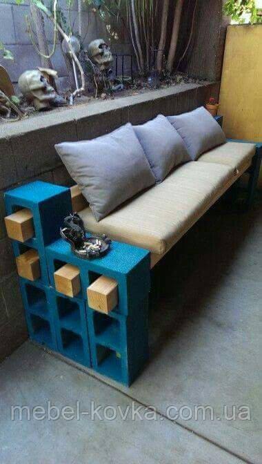 Подушки для меблів з піддону 48