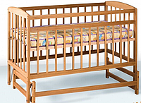 Кровать на шарнирах 1200*600 бук Крихитка