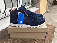 Зимние мужские кроссовки Adidas Originals Military Trail Runner Blue