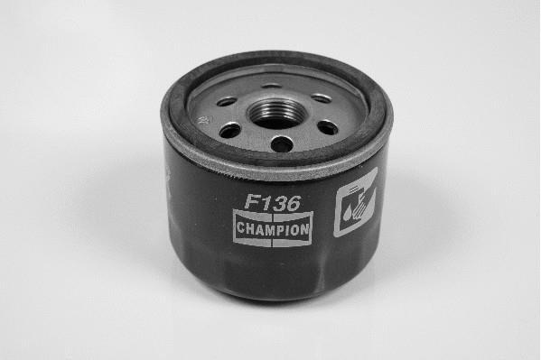 Фильтр масляный Dacia Logan Дачия Логан 1.5 dci CHAMPION (Чемпион)