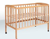 Кроватка детская на колесах 1200*600 бук Крихитка