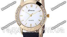Женские часы Geneva Relojes Mujer черного цвета., фото 3