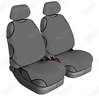 Майки сидения передние Beltex Cotton 11110 серые х/б без подголовника