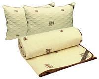 """Набор демисезонное шерстяное одеяло 200х220 + 2 подушки 50х70 Sheep ТМ """"РУНО"""""""