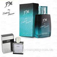 Мужская парфюмированная вода FM 158 аромат Hugo Boss Selection (Хьюго Босс Селекшн) Парфюм FM Group