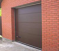 Секционные (гаражные) ворота 2500*2200 мм Alutech Trend