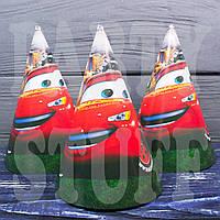 Праздничные колпачки детские Тачки, 16 см