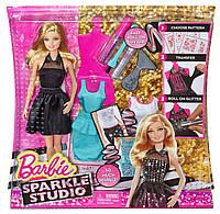 Игровой набор Барби студия сияющие наряды Barbie Sparkle Studio
