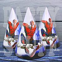 Колпачки карнавальные Человек Паук, 16 см