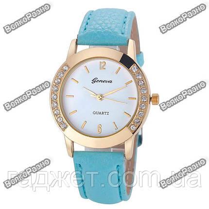 Женские часы Geneva Relojes Mujer голубого цвета., фото 2