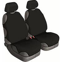 Майки сидения передние Beltex Cotton 11210 черные х/б без подголовника