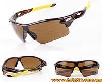 Очки Антифары для водителей противоударные, солнцезащитные (коричневые)